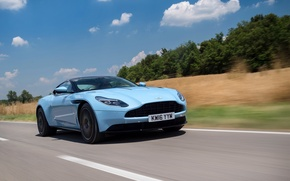 Picture car, Aston Martin, road, auto, wallpapers, speed, DB11