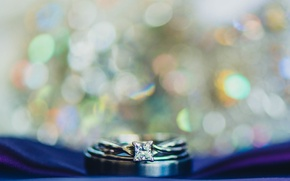 Picture stone, ring, bokeh