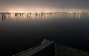 Wallpaper sea, sunrise, boat