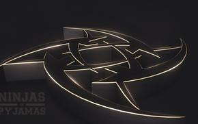 Picture logo, render, counter-strike, global offensive, csgo, nip, cs go, ninjas in pyjamas