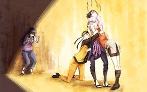 Wallpaper naruto, naruto, Uzumaki naruto, art, guys, hyuuga hinata, anime, uchiha sasuke, alderion-al, haruno sakura, girls, ...