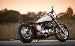 Picture road, design, motorcycle, bike, Yamaha 650