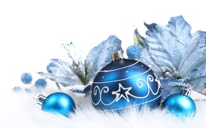 Picture flowers, holiday, patterns, Christmas decorations