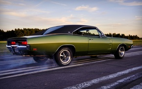 Wallpaper muscle car, charger, dodge