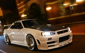 Picture Nissan, GT-R, Skyline, R34, BNR34, SKY, Nissan Skyline GT-R R34 (BNR34)