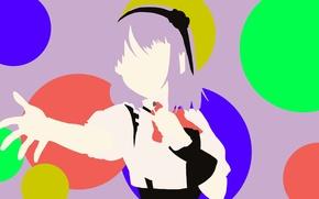 Picture kawaii, girl, bubbles, game, flower, anime, beautiful, asian, cute, manga, pretty girl, japanese, Minimalism, sugoi, …
