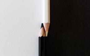 Picture pencils, Yin, Yang