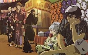 Picture Yin, Darker than Black, Hey, Mao, Misaki Kirihara, Yusuke Saito, Kunio Matsumoto
