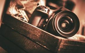 Picture technique, camera, the camera