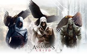 Picture Eagle, Assassin's Creed, Ezio auditore da Firenze, Altair, Altair Ibn La-Ahad, Radunhageydu, Connor Kenuey, Ezio …