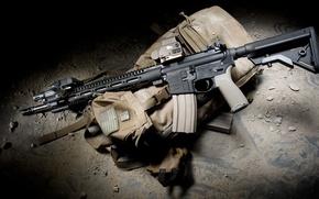 Picture weapons, rifle, Rifle, BCM, bag, Precision, MK2, Recce18, Bravo Company USA
