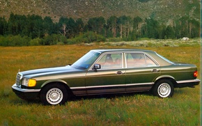 Picture Green, Mercedes-benz, 1979, S-Class, W126