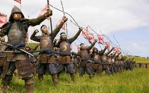 Picture battle, drama, samurai, archers, The Last Samurai, The Last Samurai