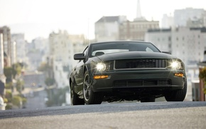 Wallpaper auto pictures, car walls, cars, ford mustang bullitt, Ford Mustang, road, machine