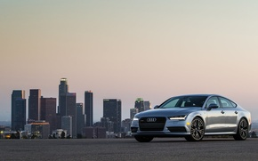 Wallpaper Audi, Audi, quattro, Sportback, S-Line, TFSI, US-spec, 2015