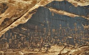 Picture style, antiquity, Characters, Utah, Anasazi