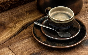 Picture coffee, Cup, bowl