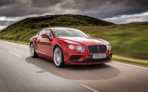 Wallpaper Bentley, 2015, Speed, Continental, Bentley, continental