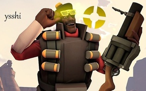 Picture game, tf2, deoman