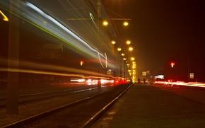 Wallpaper light, night, lamp, The city, excerpt, Barnaul
