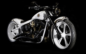 Picture style, motorcycle, Harley Davidson