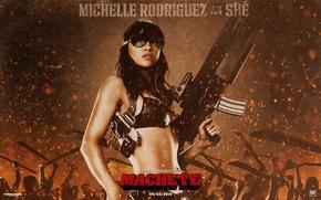 Picture Michelle, Rodriguez, Michelle, Machete, Machete, Rodriguez