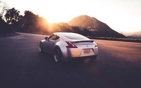 Picture road, machine, auto, Nissan, 370 Z