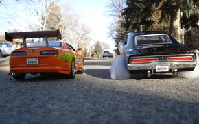 Wallpaper the fast and the furious, The Fast And The Furiour, cars, Toyota Supra, race