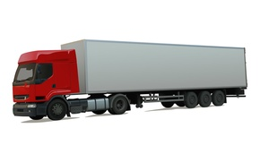 Wallpaper vector, truck, van, long-length