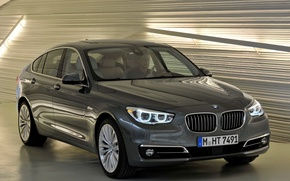 Picture auto, lights, BMW, the front, front, xDrive, Gran Turismo, Modern Line, 535i