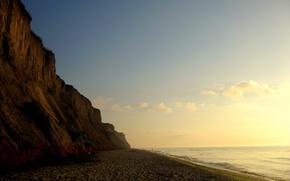 Wallpaper Sea, Morning, Open