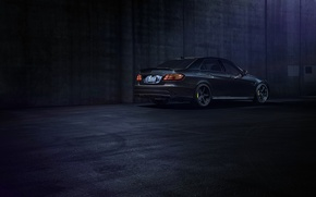 Picture Mercedes-Benz, Dark, California, Motorsport, Sonic, E63, Rear, Ligth, Nigth, AMG S
