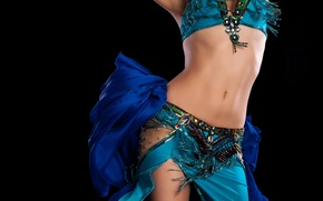 Picture woman, clothing, Arab dancing