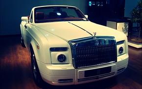 Picture rolls royce, convertible, phantom