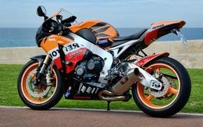 Picture honda, motorbike, CBR 250, repsol
