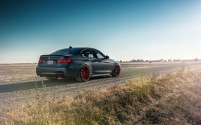 Picture BMW, German, Car, 335i, Sport, Road, Rear, F80