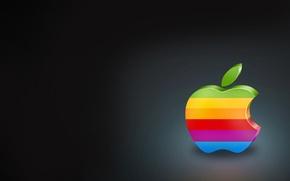 Picture bright, Apple, minimalism