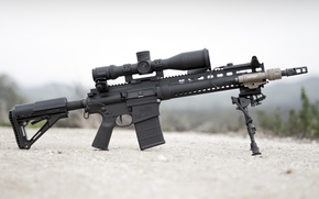 Picture weapons, flashlight, optics, rifle, carabiner, assault, fry, Larue Tactical, semi-automatic