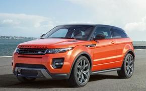 Picture Sea, Road, Evoque, Rover, Range