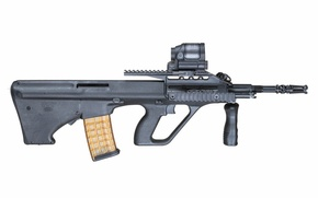 Picture weapons, background, machine, STEYR Aug