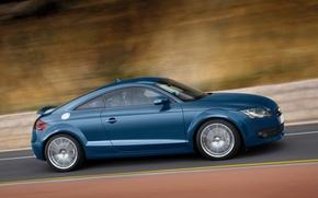Picture Audi, blue