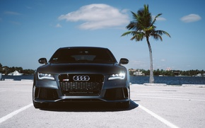 Picture Audi, parking, RS7