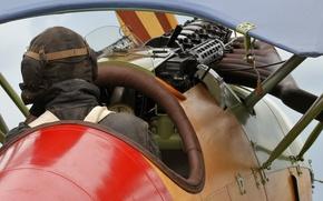 Wallpaper Fighter, cabin, pilot, The first world war, replica, Albatros D. Va