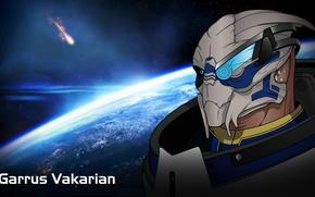 Picture Space, Space, Mass Effect, Garrus Vakarian, Garrus Vakarian