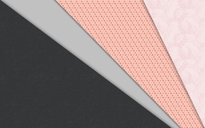 Picture strip, grey, pink, texture, design, color, material