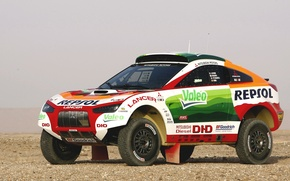 Picture Auto, Wheel, Sport, Desert, Machine, Race, Mitsubishi, Mitsubishi, Jeep, Heat, Rally, Dakar, Dakar, SUV, Rally, ...