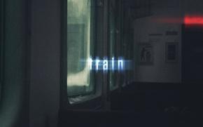 Picture text, train, glow, window, light, wallpaper, seat, train, window