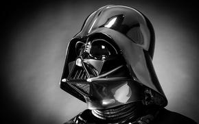 Picture plastic, Star Wars costume, Darth Vader helmet