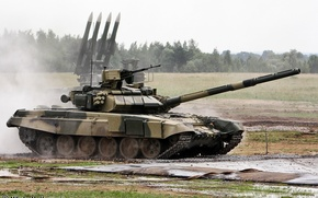 Picture rocket, tank, Russia, T-90