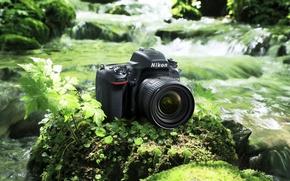 Picture high-tech, Nikon, river, photography, digital, nature, camera, rocks, leather, asian, stream, japanese, oriental, asiatic, vegetation, …